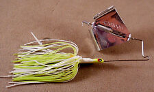 Bass Fishing Lure 3/8 oz. DR Custom Large Flat Frog Buzz Bait, Spinnerbait