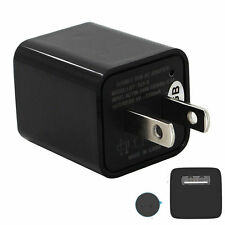 1080P 8GB AC Adapter Hidden Spy Video Camera Loop Record US Plug USB Pen Charger