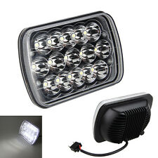 15LED  7X6'' chips HID White Light Crystal Clear Sealed Beam Headlamp Headlight