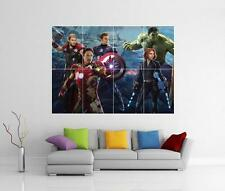 THE AVENGERS ASSEMBLE 2 AGE OF ULTRON GIANT WALL ART PHOTO PICTURE PRINT POSTER