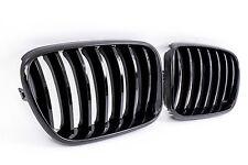 Nieren Kühlergrill für BMW X3 F25 ab Bj. 2010- - Front Grill in glänzend schwarz