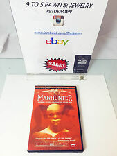 "DVD MANHUNTER LIMITED EDITION NO.16347 OUT OF 100,000 ""FREE SHIPPING"""