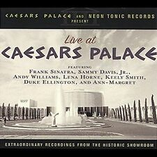Live at Caesars Palace NEW! CD, FRANK SINATRA,SAMMY DAVIS,ANDY WILLIAMS,CONCERT