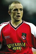 Football Photo ROBIN GIBSON Wrexham 2001-02