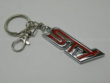 RED and CHROME GIFT IDEA SUBARU IMPREZA STI LEGACY FORESTER KEY CHAIN KEYRING