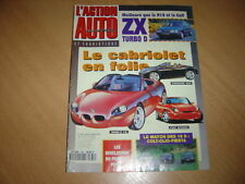 action auto N°368 Clio 16 S/Fiesta XR2i 16V.ZX Turbo D