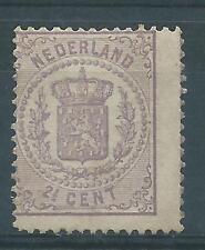 1869 TG Nederland Wapenserie NR.18 postfris zegel mooie kleur zie foto's!!!