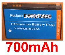 Batería 700mAh tipo BST5268BC Para SAMSUNG SGH-D808
