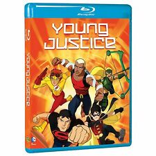 YOUNG JUSTICE - COMPLETE SEASON 1 -  Blu Ray - Sealed Region free for UK