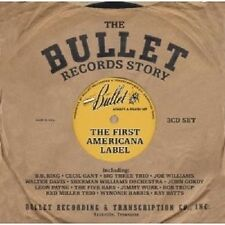 """THE BULLET RECORDS STORY """"THE FIRST AMERICANA LABEL 3 CD NEUWARE"""