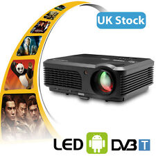 HD CAIWEI 4200lumens Andriod Projector DVB-T Digital TV Wireless Movie Game Xbox