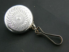 Lovely Vintage Ketchum McDougall Retractable Eyeglass Key Holder Brooch Pin