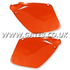 KTM 520SX RACING SX-F 520 2000-2002 ORANGE REAR SIDE PANELS MOTOCROSS MX PLASTIC