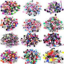 lot 120 piercing percing melange arcade nombril labret langue nez revendeur