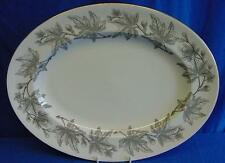 """WEDGWOOD W4106 ASHFORD 13.5"""" OVAL MEAT SERVING PLATE OR PLATTER MADE IN ENGLAND"""