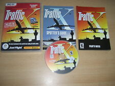 TRAFFIC X Pc DVD Rom Add-On Expansion Pack Microsoft Flight Simulator Sim X FSX
