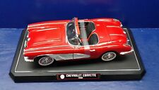Solido  '1958 Red Chevrolet Corvette Convertible'  Die-Cast  1/12 Scale