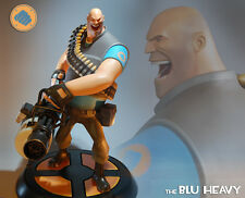 Gaming Heads Team Fortress 2 The Blu Heavy Statue MINT IN BOX