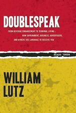 Rebel Reads: Doublespeak : From Revenue Enhancement to Terminal Living : How...