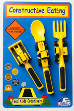 Constructive Eating Utensil Set