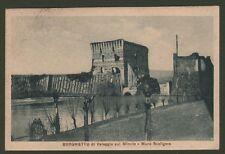 Veneto. BORGHETTO DI VALEGGIO SUL MINCIO, Verona. Cartolina viaggiata nel 1922