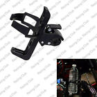 Motorcycle Handlebar Mounted Clamp On Cup Holder Beverage Water Bottle For Honda