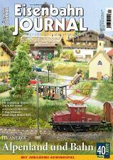Eisenbahn Journal 4/2015 Alpenland und Bahn