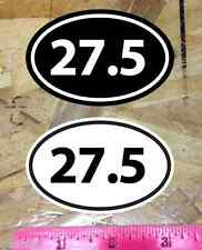 27.5 MTB Mountain Bike oval sticker decal - 2 for 1