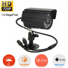 720 HD Wired Outdoor Waterproof Security Color Night Vision IR Network IP Camera