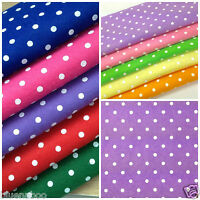 """1x POLKA DOT Felt square  12 x 12 """" postage 1st square only red green blue pink."""