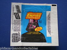 The Empire Strikes Back  2nd Series  Bubblegum Card Wrapper - 1980  Topps