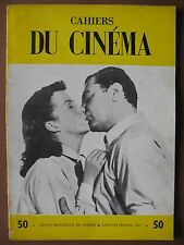CAHIERS DU CINEMA  n° 50