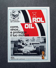 H861- Advertising Pubblicità -1982- ROL OIL
