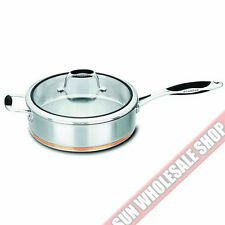 100% Genuine! SCANPAN Coppernox 28cm 3.2L Saute pan Copper Base! RRP $209.00!