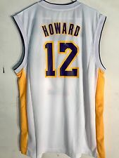 Adidas NBA Jersey Los Angeles Lakers Dwight Howard White sz M