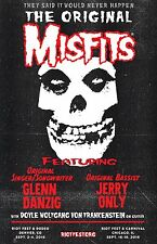 "MISFITS - DANZIG & JERRY ONLY ""DENVER & CHICAGO RIOTFEST 2016"" CONCERT POSTER"