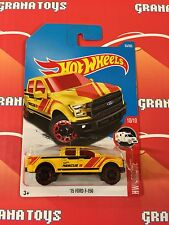 15 Ford F-150 #65 Yellow 2017 Hot Wheels Case C