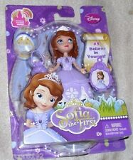 "Disney Sofia The First Princess Sofia Doll 3""  With Charm #1 New"