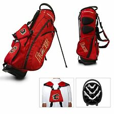 BRAND NEW Team Golf Calgary Flames Fairway Golf Stand Bag Red/Black 13328