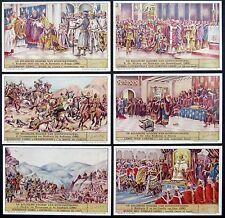 Liebig - De Belgische Keizers van Konstantinopel - 6 Bilder (G-593