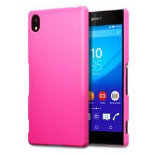 Genuine High Impact Rubberised Case Micro Thin Bumper Pink Sony Xperia Z3 PLUS