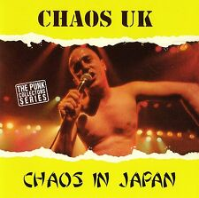 CHAOS UK - CHAOS IN JAPAN CD (LIVE 1991) ANAGRAM RECORDS / UK-PUNK / 16 SONGS