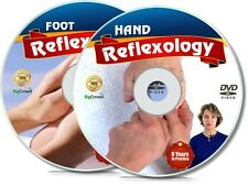 How To Do Reflexology for Feet and Hands Video Lessons on 2 DVDs Foot & Fingers