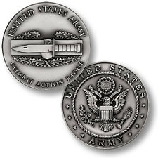 NEW U.S. Army Combat Action Badge Challenge Coin. 48678.