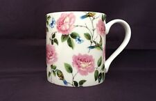 Bone China Floral Roses Garden Chintz Pattern Mug Hand Decorated in Wales