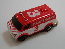 Vintage Tyco #3 Maintenance Dodge Van HO Jam Car TCR Total Control Racing #2