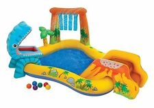 Inflatable Play Center Fun Toy Party Kid Toddler Baby Yard Pool Slide Sprinkler