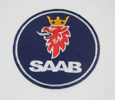 "SAAB Cars Sew-On Griffin Automotive Patch 3.5"" Dia."
