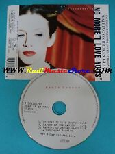 "CD Singolo Annie Lennox No More""I Love You'sˮ 74321262292 EU 1995 no mc lp(S24)"
