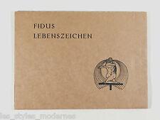 FIDUS / Hugo Höppener Lebenszeichen ° 12 Federzeichnumngen 1922 Druck A.Hopfer